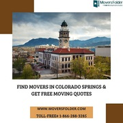 Find Movers in Colorado Springs & Get Free Moving Quotes